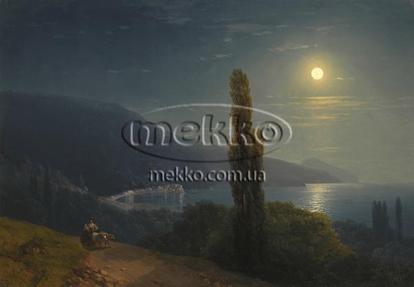 Картина Кримське узбережжя в місячному світлі, І.К. Айвазовський  Львів