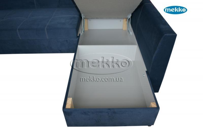 Кутовий диван з поворотним механізмом (Mercury) Меркурій ф-ка Мекко (Ортопедичний) - 3000*2150мм  Львів-20