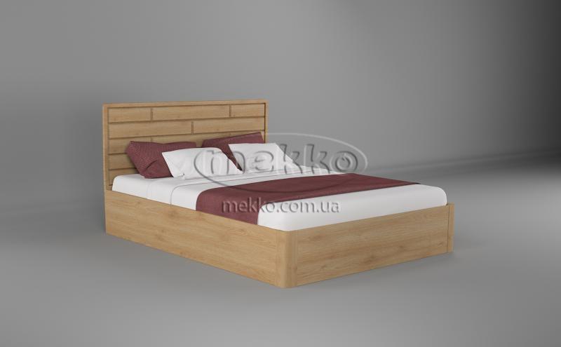 Ліжко Лауро з Підйомником (масив бука /масив дуба) T.Q.Project  Львів-5